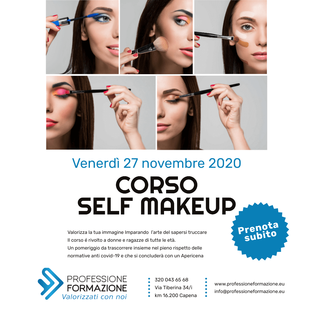 Corso di self make-up
